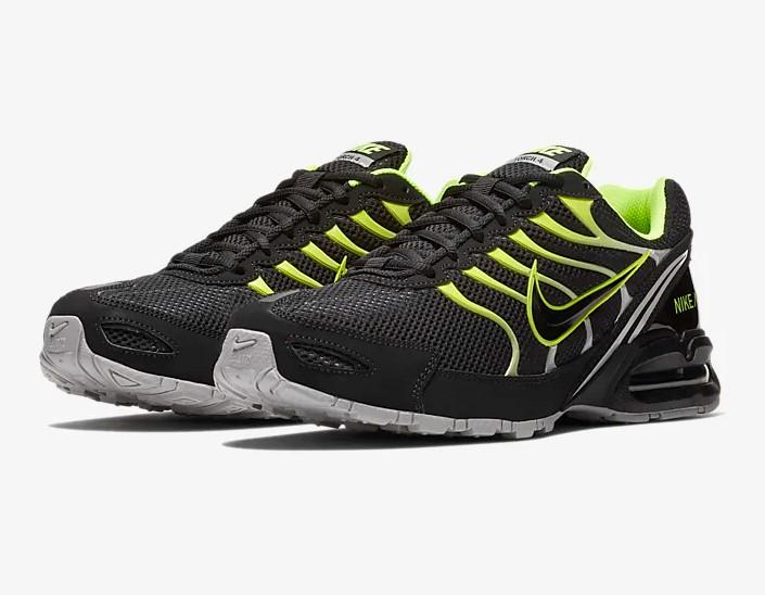 Nike Air Max Torch 4 NoirGris atmosphèreVolt pas cher