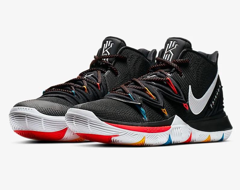 Nike Kyrie 5 Noir/Cramoisi brillant/Jaune/Blanc pour Homme