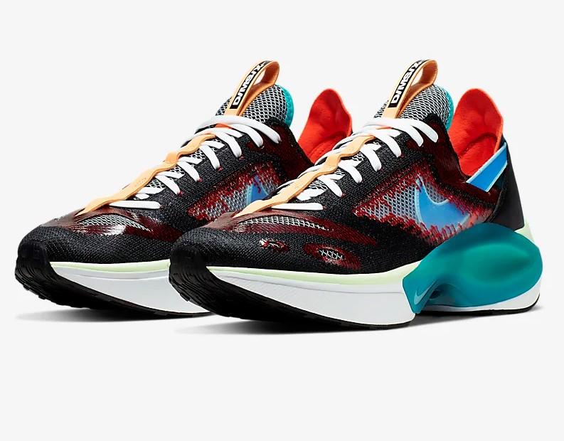 Nike N110 D/MS/X Noir/Regard Azur/Rouge université/Bleu héros pour Homme