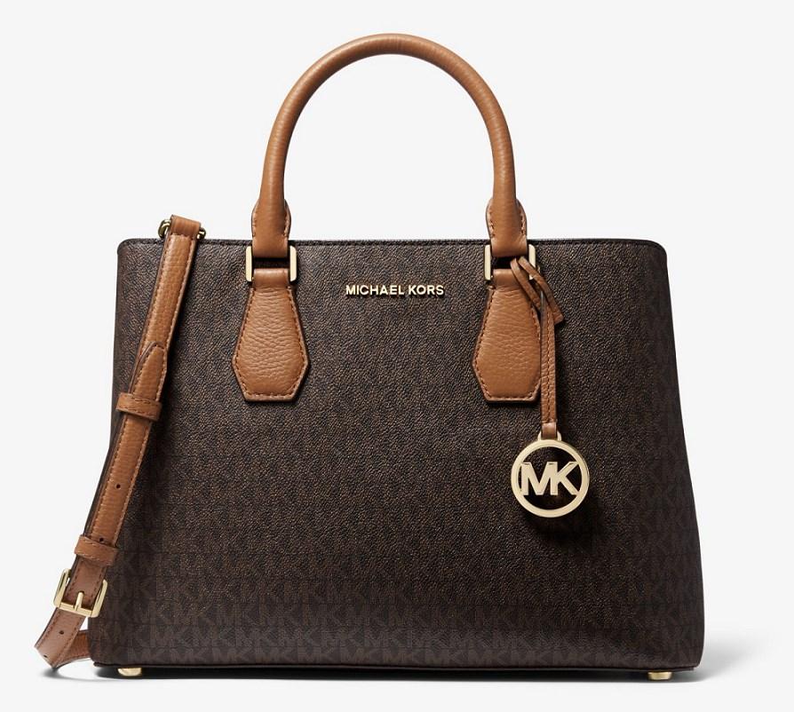 MICHAEL Michael Kors Grand sac porté main Camille en cuir à logo - Black  Friday Sacs à Main Michael Kors