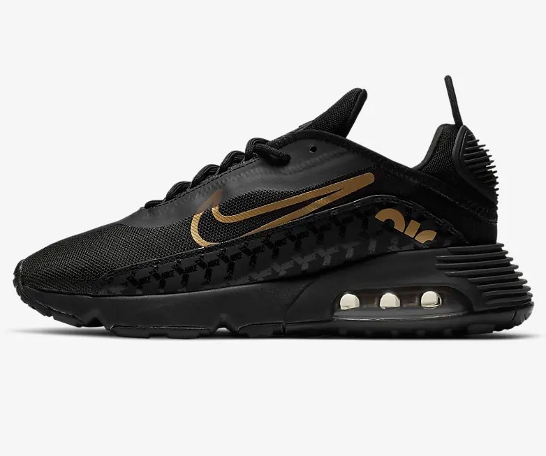 Nike Air Max 2090 Noir/Noir/Or métallique