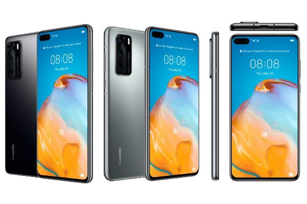 Smartphone Huawei P40 Pro 5G Double SIM 256 Go Argent