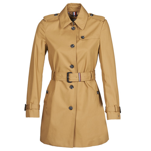 Tommy Hilfiger SINGLE BREASTED TRENCH Beige