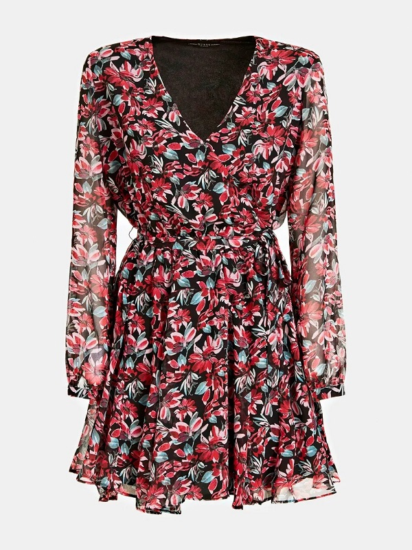 ROBE EN GEORGETTE Guess Fantaisie florale