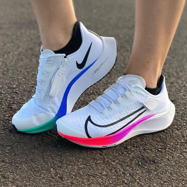 Nike Air Zoom Pegasus 37 FlyEase Blanc/Hyper violet/Essence D ...