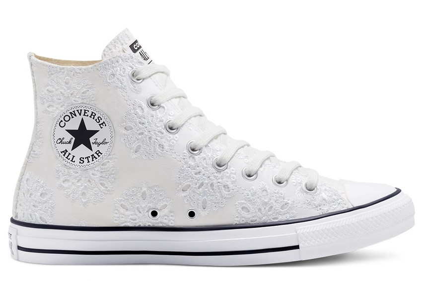 Converse Boho Mix Chuck Taylor All Star High Top white/white/black