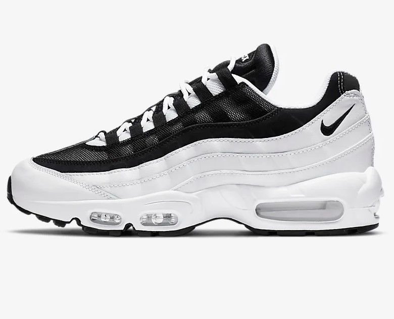 Nike Air Max 95 Essential Blanc/Noir