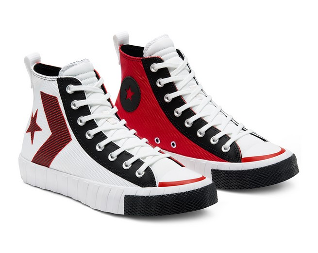 Converse Rivals Not A Chuck High Top white/university red/black