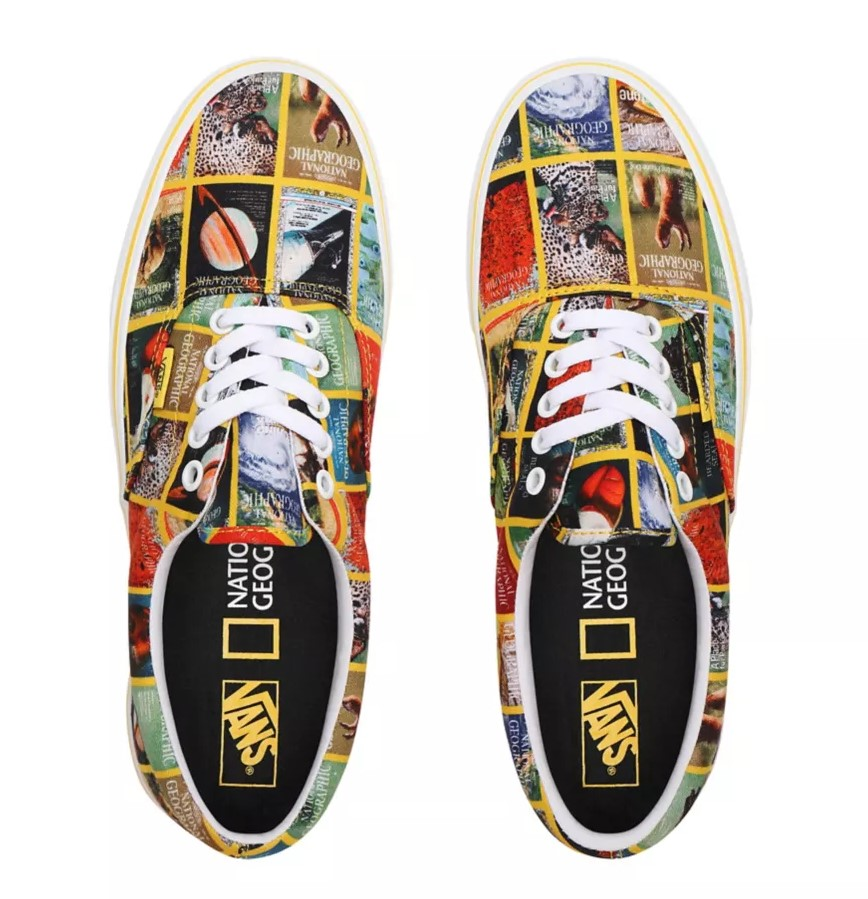 Vans x National Geographic Era pas cher Baskets Vans