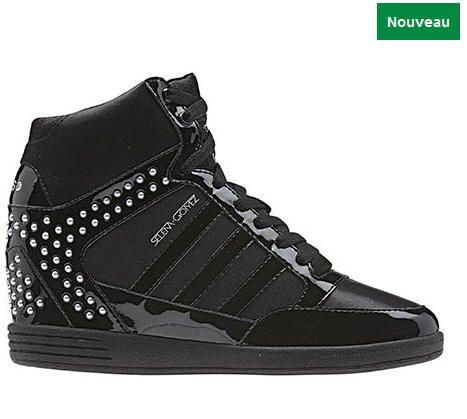 Chaussures Adidas, Femmes Chaussure à talon compensé BBNEO ...