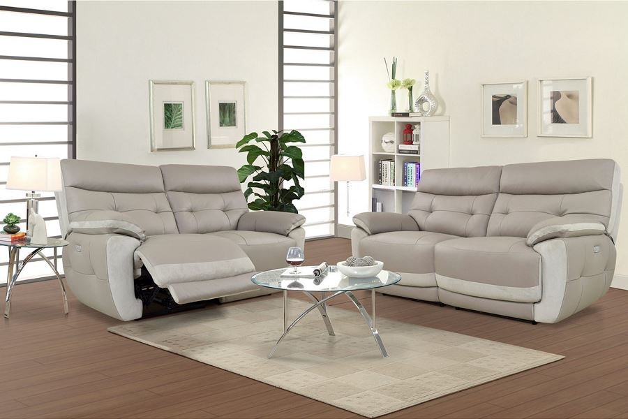 Canapé 3 Places 2 Relax électrique Eden Ii Pas Cher Soldes