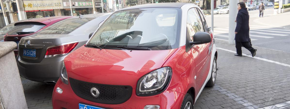 La Smart Fortwo est la voiture la plus volée en France, selon l'association 40 millions d'automobilistes - Franceinfo
