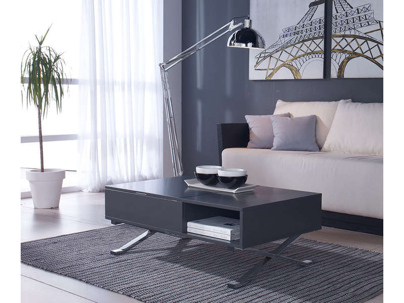 table basse plateau relevable manila table basse conforama. Black Bedroom Furniture Sets. Home Design Ideas