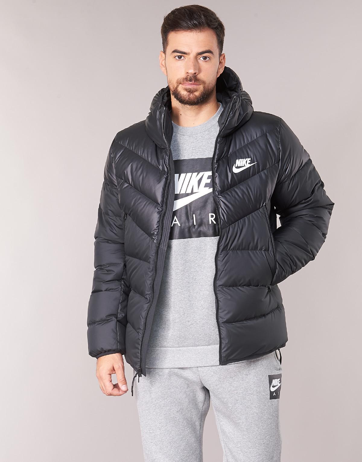 Cher Smoothrunvest Spartoo Nike Doudoune Homme Noir Pas 4Bn1R0