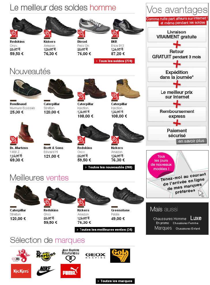 De Pour Homme Chaussures Chaussure Sarenza Discount Ville 80knOPwX