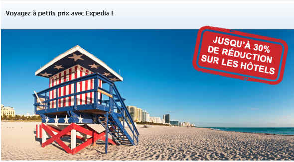 Promotion Expedia.fr