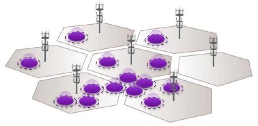 Orange teste un réseau d'antennes à faible puissance à Annecy