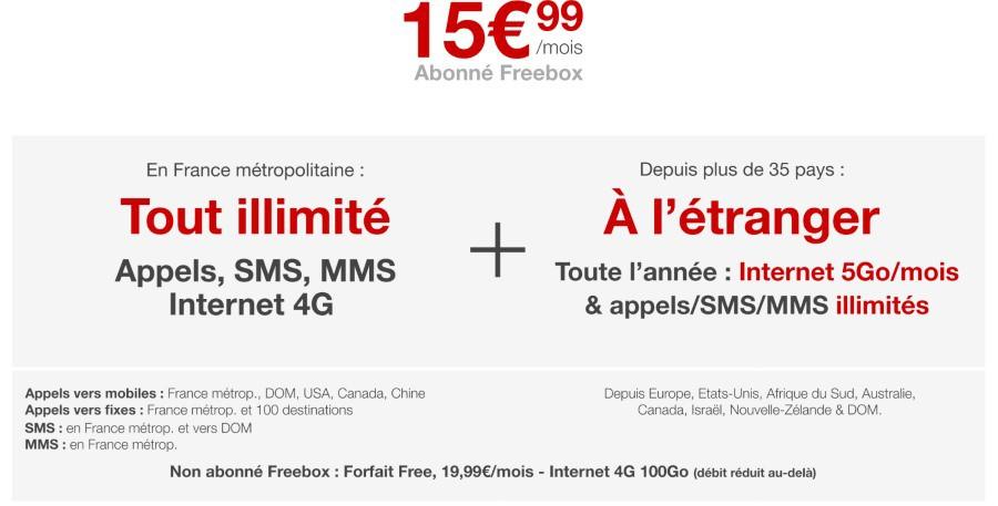 Free Mobile: la 4G désormais illimitée pour les abonnés Freebox