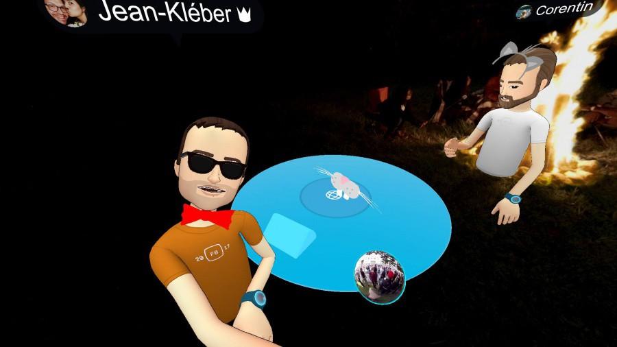On a testé Facebook Spaces, la VR sociale et rigolarde