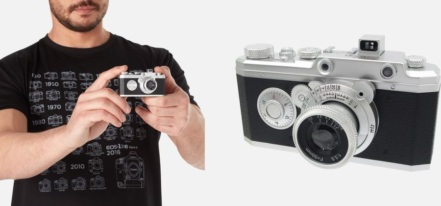 Canon lance une gamme de vêtements et d'accessoires personnalisés