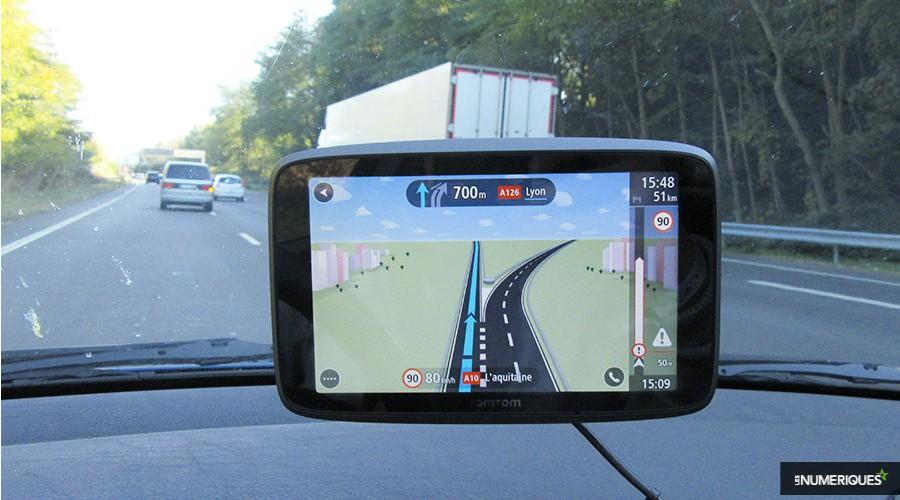 Pas de GPS, pas de permis de conduire
