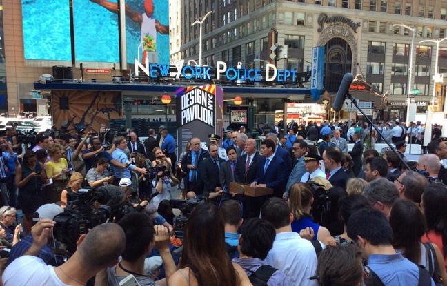 VIDEO. Voiture qui a foncé sur la foule à Times Square: Les New-Yorkais «ont pensé au pire» - 20minutes.fr