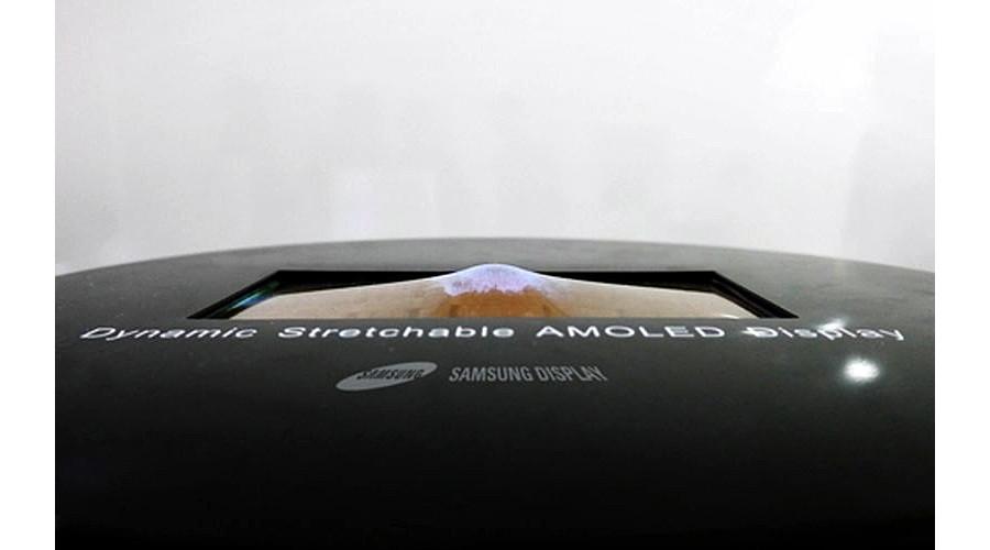 Samsung présente cette semaine un écran Amoled étirable au SID 2017
