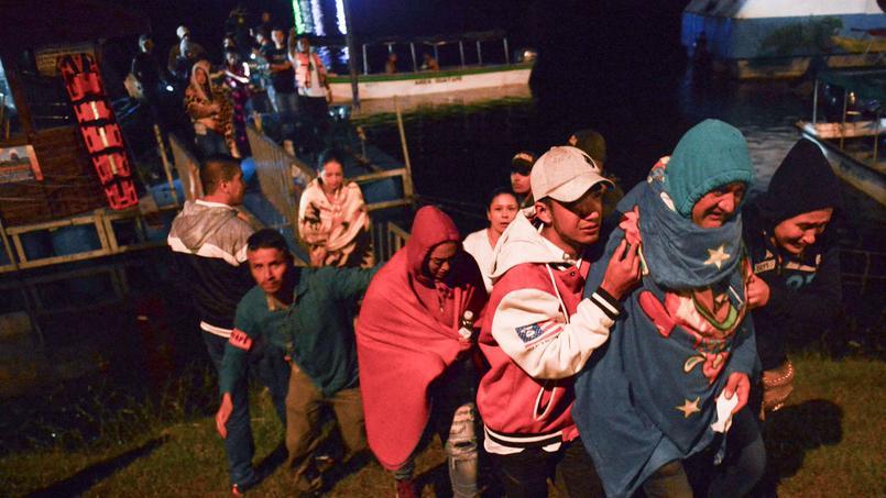 En Colombie, le naufrage d'un bateau fait au moins six morts et seize disparus - Le Figaro