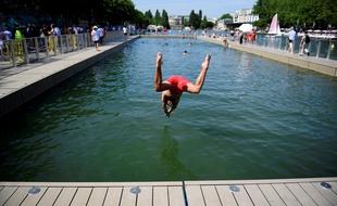 Paris: Ouverture de la baignade au bassin de la Villette... «C'était un rêve, il se réalise» - 20minutes.fr