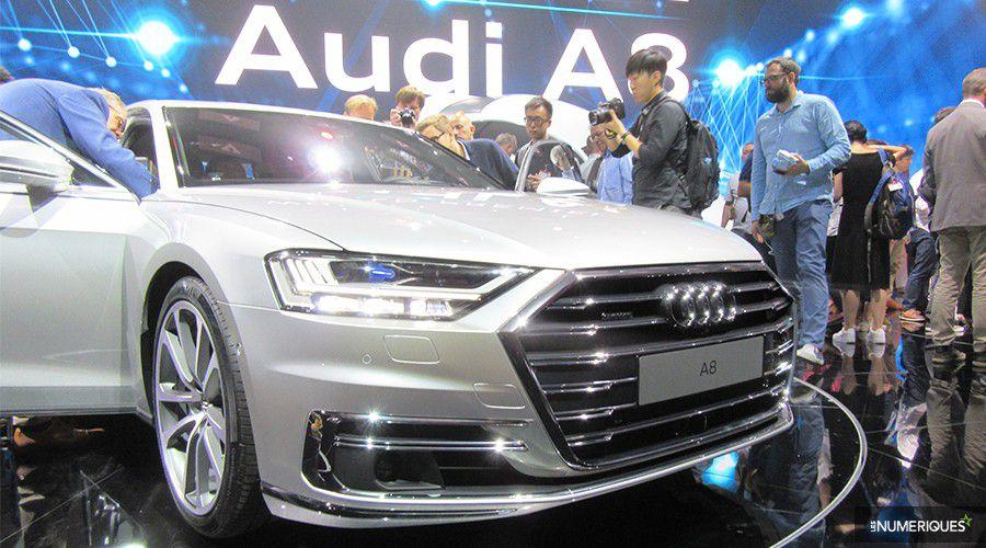 Dossier - Audi A8: un mode de conduite autonome de niveau 3