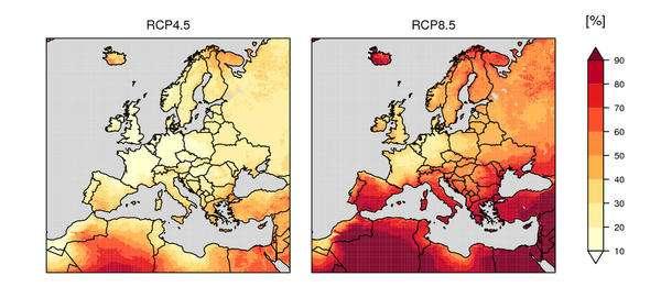 La canicule de juin en partie due au réchauffement climatique