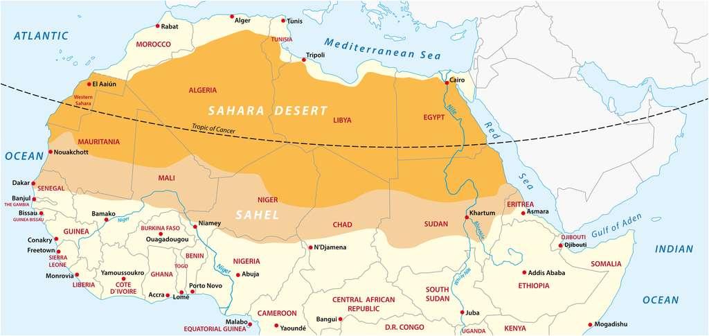 Le Sahel pourrait subir des pluies diluviennes