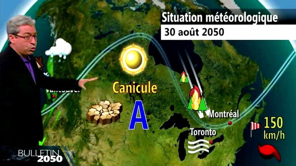 Le bulletin météo de 2050 : il fera vraiment chaud demain !