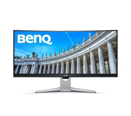 BenQ EX3501R: un écran 35 pouces VA 100 Hz incurvé compatible HDR
