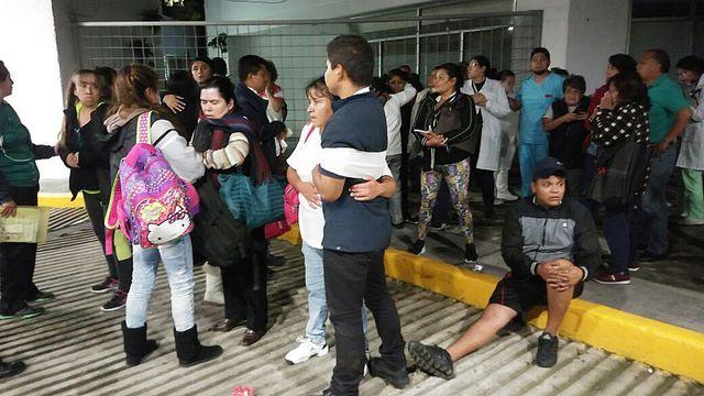 Séisme de magnitude 8,2 au Mexique: au moins cinq morts, alerte tsunami lancée - L'Express