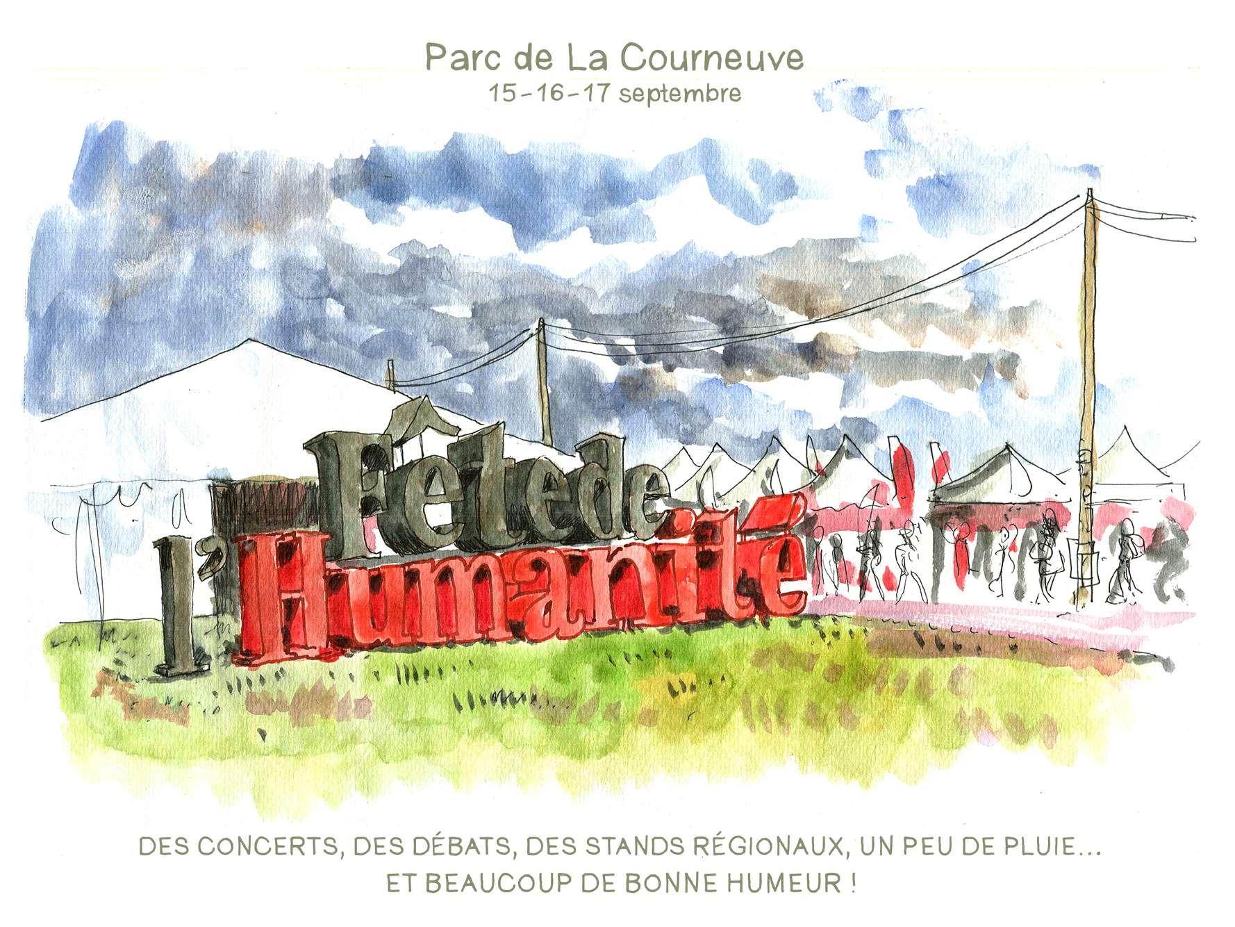 A la Fête de «L'Huma», Pierre Laurent fustige «le mépris du petit monarque Macron»