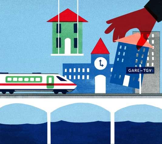 Voyages d'affaires: les territoires misent sur l'effet TGV
