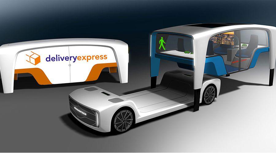 Rinspeed Snap, le véhicule caméléon à la demande