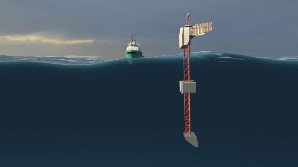 Jean-Louis Étienne prépare son bateau vertical Polar Pod pour une odyssée antarctique