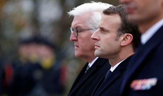 11-Novembre : Macron et Steinmeier défendent l'Europe, une idée « d'avenir » - Le Monde