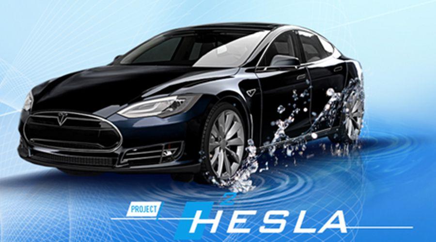 Projet Hesla: une Tesla Model S roulant à l'hydrogène