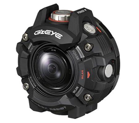Casio dévoile une action-cam étanche jusqu'à 50 m sans caisson