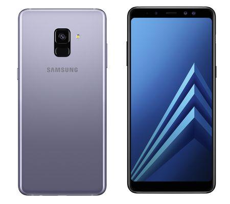 Samsung présente ses Galaxy A8 et A8+ avec des airs de S8