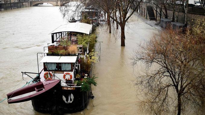 Menaces d'inondations dans une vingtaine de départements - Le Figaro