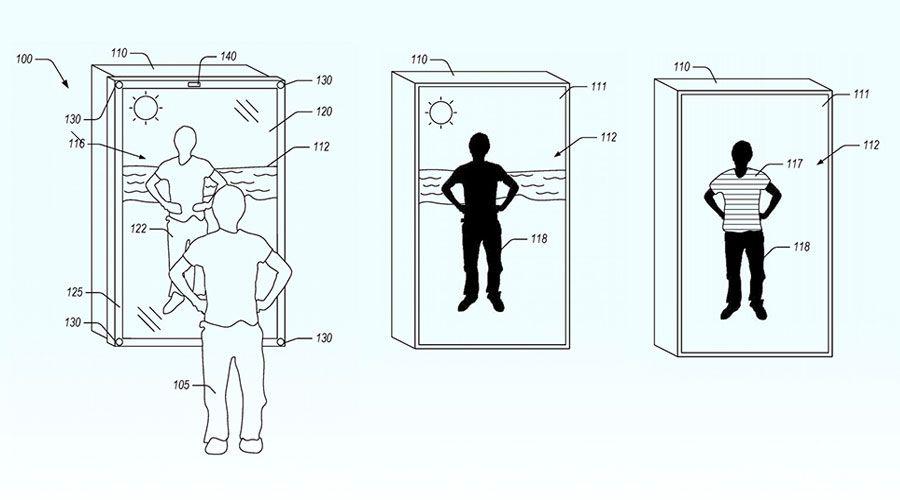 Amazon brevète un miroir pour s'habiller virtuellement