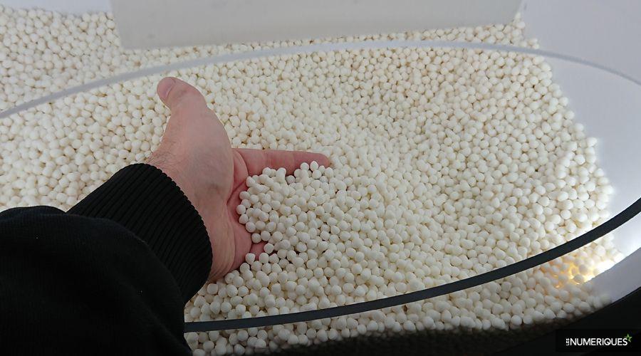 Xeros rend les lave-linge plus écologiques par des milliers de billes