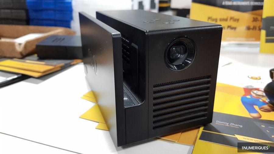 CES 2018– OJO: un vidéoprojecteur portable pour Nintendo Switch