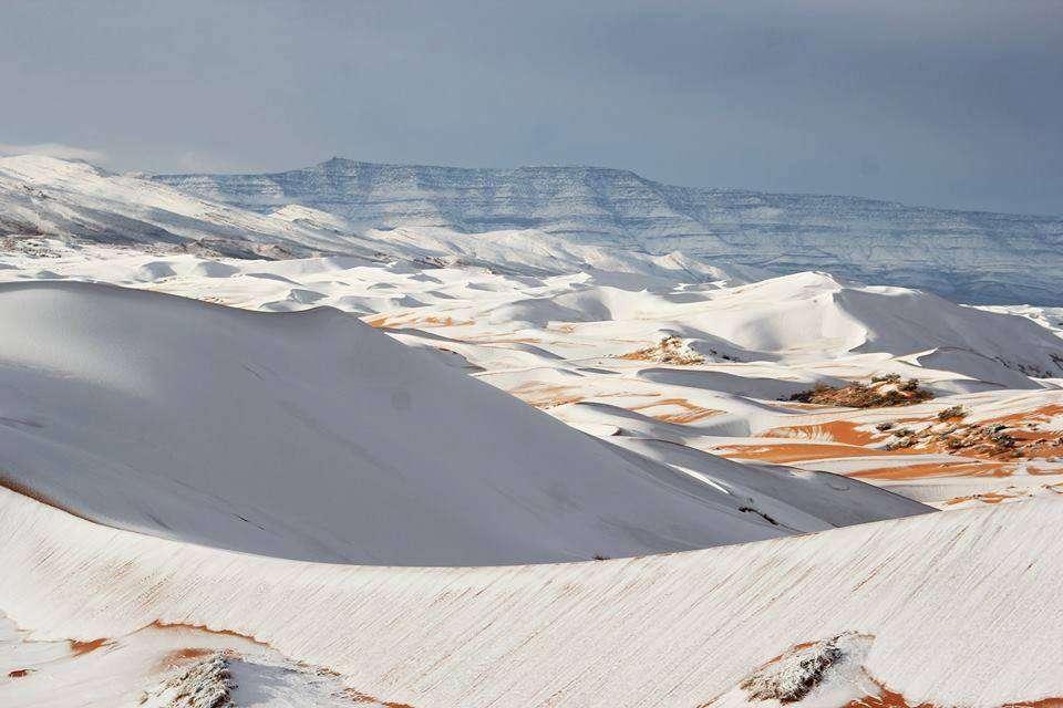 Neige au Sahara, grand froid aux États-Unis: la météo devient-elle folle ?
