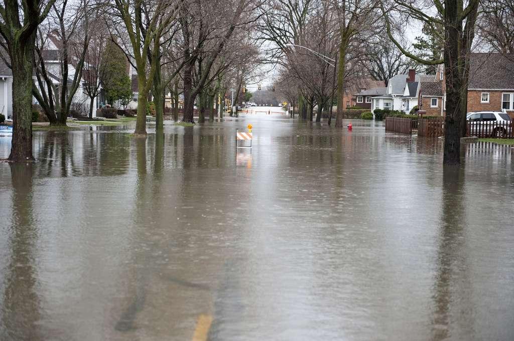 Le risque d'inondations va augmenter