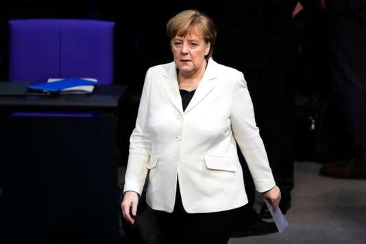 Allemagne : après six mois de négociations, Angela Merkel réélue chancelière - Le Monde
